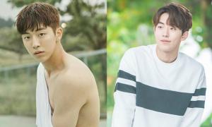 Mỹ nam Hàn đẹp trai sáng láng khi để mái trái tim