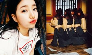 Sao Hàn 13/1: Suzy mặt tròn xinh, 4 mỹ nam 'Hwarang' bày trò hài