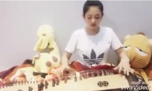 'Lạc trôi' phiên bản đàn tranh của cô gái trẻ hút hàng trăm nghìn lượt xem