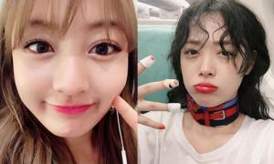 Sao Hàn 29/1: Sulli kém sắc vì mắt thâm quầng, Ji Hyo (Twice) má bánh bao cute