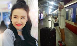 Sao Việt 12/2: Angela Phương Trinh tóc đen dịu dàng, Mai Ngô mặc đồ ở nhà ra đường