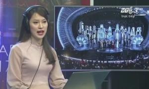 Khánh Vy làm phiên dịch lễ trao giải Oscar trên sóng truyền hình Việt