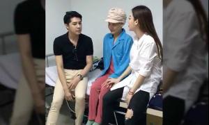 Noo Phước Thịnh bất ngờ thăm mẹ học trò bị ung thư