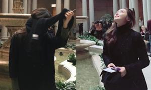 Sao Hàn 13/3: Krystal bị Jessica chụp ảnh 'dìm', Jennie tóc ngắn cá tính