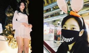 Sao Hàn 25/3: Seol Hyun mặc váy siêu ngắn, Tae Yeon hóa trang ngộ nghĩnh