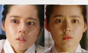Những mỹ nhân Hàn lên phim là trợn mắt 'dọa' khán giả
