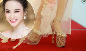 Loạt ảnh chứng tỏ trình đi giày cao gót thượng thừa của Angela Phương Trinh