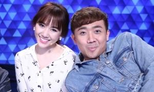 Hari Won thấy 'ghê ghê' khi Trấn Thành gọi bà xã trên sóng truyền hình