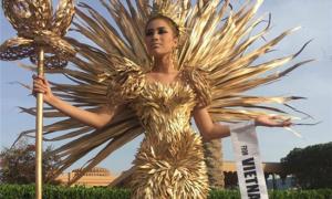 Người đẹp Việt 'bị cấm diễn' đăng quang Á hậu 3 Miss Eco 2017