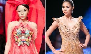 3 nàng Hoa hậu đắt show catwalk nhất làng mốt Việt