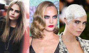 Cara Delevingne cùng hành trình thay đổi kiểu tóc đầy ngoạn mục