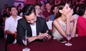 Lê Thúy 'ghen' khi phát hiện chồng hẹn Miu Lê đi xem phim