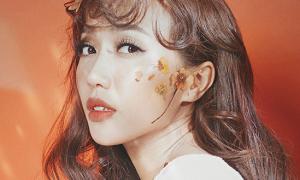 Diệu Nhi xinh như gái Hàn với mốt make-up 'hoa quả mùa hè'