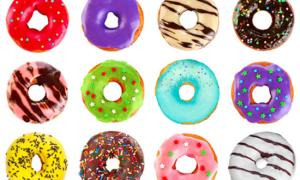 Luyện trí nhớ qua câu đố vị trí bánh doughnuts