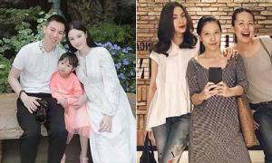 Sao Việt 11/5: Huyền Baby lần đầu lộ bụng bầu, Hà Tăng tái xuất thon gọn