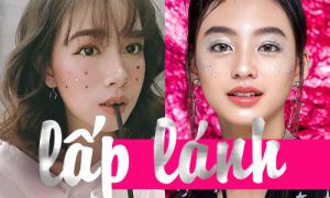 Hot girl Việt bắt sóng 'thần tốc' mốt trang điểm lấp lánh kiểu Nhật, Hàn