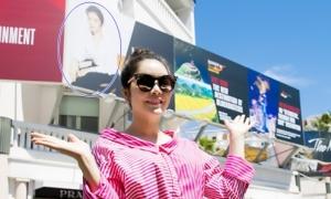 Lý Nhã Kỳ lên tiếng về tấm pano ở Cannes xuất hiện ảnh cá nhân