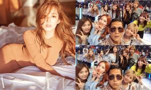 Sao Hàn 26/5: Park Min Young khoe S-line quyến rũ, Twice đọ vẻ kute với đàn anh