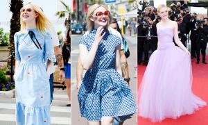 'Tiên nữ 19 tuổi' của Hollywood khuynh đảo LHP Cannes vì ăn mặc quá đẹp