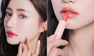 Hot girl số 1 Hàn Quốc Park Sora lăng xê tích cực mốt tô son tràn môi