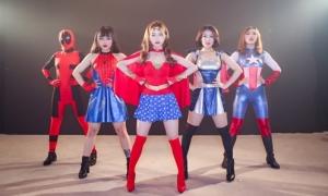 Sĩ Thanh hóa Wonder Woman siêu gợi cảm
