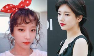 Sao Hàn 10/6: Suzy khoe vẻ đẹp gây xao xuyến, Hani cột nơ 'bánh bèo'