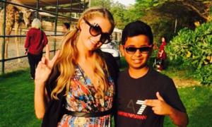 Thiếu gia Dubai 15 tuổi quen thân với nghìn người nổi tiếng khắp thế giới