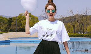 1001 ý tưởng phối đồ với áo thun trắng cho bạn gái