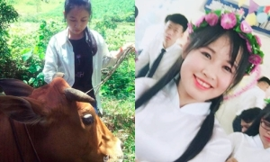 'Cô gái chăn bò' vùng núi xứ Nghệ đạt 30 điểm thi khối C