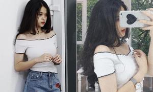Hot girl Linh Ka mới 15 tuổi đã mê tít đồ trễ nải sexy