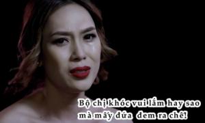 Mỹ Tâm bị chế ảnh hài hước dù khóc nức nở trong MV mới