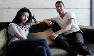 Chân dung kiều nữ 'trâm anh thế phiệt' được Ronaldo đến thăm khi sinh con