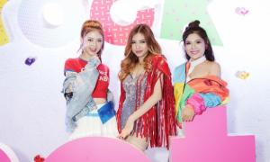 Top ba cuộc thi 'Be A Star' hội ngộ tại sự kiện