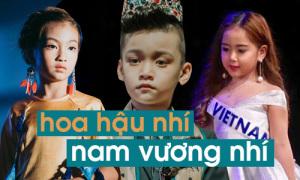 Mẫu nhí Việt thi sắc đẹp quốc tế: Cạnh tranh khốc liệt