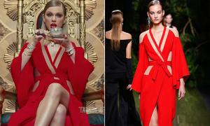 'Rắn chúa' Taylor Swift diện toàn đồ có giá 'trên trời' trong MV mới
