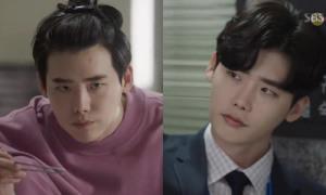 Lee Jong Suk lộ cảnh luộm thuộm khi ở nhà khiến fan nữ bối rối