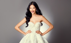 Hoàng Thùy: 'Tôi đang tăng cân để thi hoa hậu'
