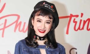 Angela Phương Trinh diện đồ kín đáo khoe giọng sau nhiều năm 'gác kiếm'
