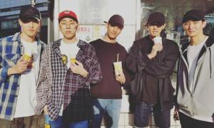 Sao Hàn 7/10: Chan Yeol (EXO) hẹn hò hội bạn thân toàn trai vừa đẹp vừa cao