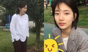 Sao Hàn 19/10: Suzy makeup nhẹ như không, Yeri (Red Velvet) mặt 'biến sắc'