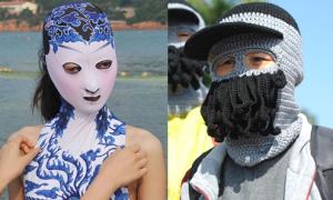 Trào lưu 'Facekini' ngày càng kỳ quái ở Trung Quốc