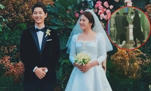 Vợ chồng Song Hye Kyo bịt kín mít đi trăng mật