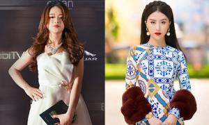 Linh Ka mặc váy công chúa lạc quẻ giữa dàn hot girl