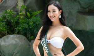 Hành trình ấn tượng của Hà Thu trước chung kết Miss Earth tối nay