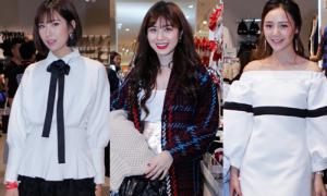 Gái xinh Hà thành tụ hội trong tiệc mua sắm