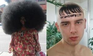 Những kiểu tóc 'chất như nước cất' ít ai dám thử