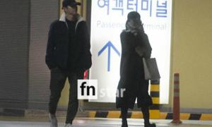 Song Joong Ki - Song Hye Kyo xa cách ở sân bay