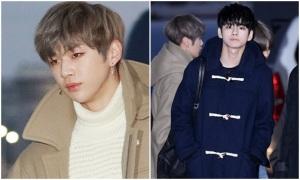 Wanna One đẹp trai ngời ngời trên đường sang Việt Nam dự MAMA