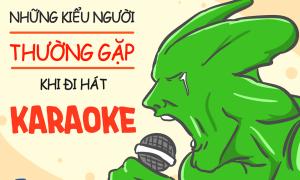 Tranh vui: Những kiểu người thường gặp khi đi hát karaoke