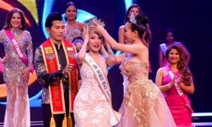 Dương Yến Ngọc giành danh hiệu Hoa hậu Quý bà Hòa bình châu Á